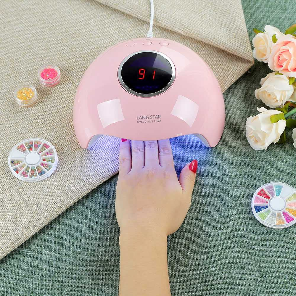 Langstar 6 UV/lampe LED pour ongles sèche-linge Gel vernis 24 W outil de manucure intelligent