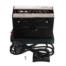 220V/50Hz Electric Shisha Hookah Charcoal Stove Heater Coal Square Charcoal Oven Hot Plate Burner Pipe Accessories EU Plug Cable