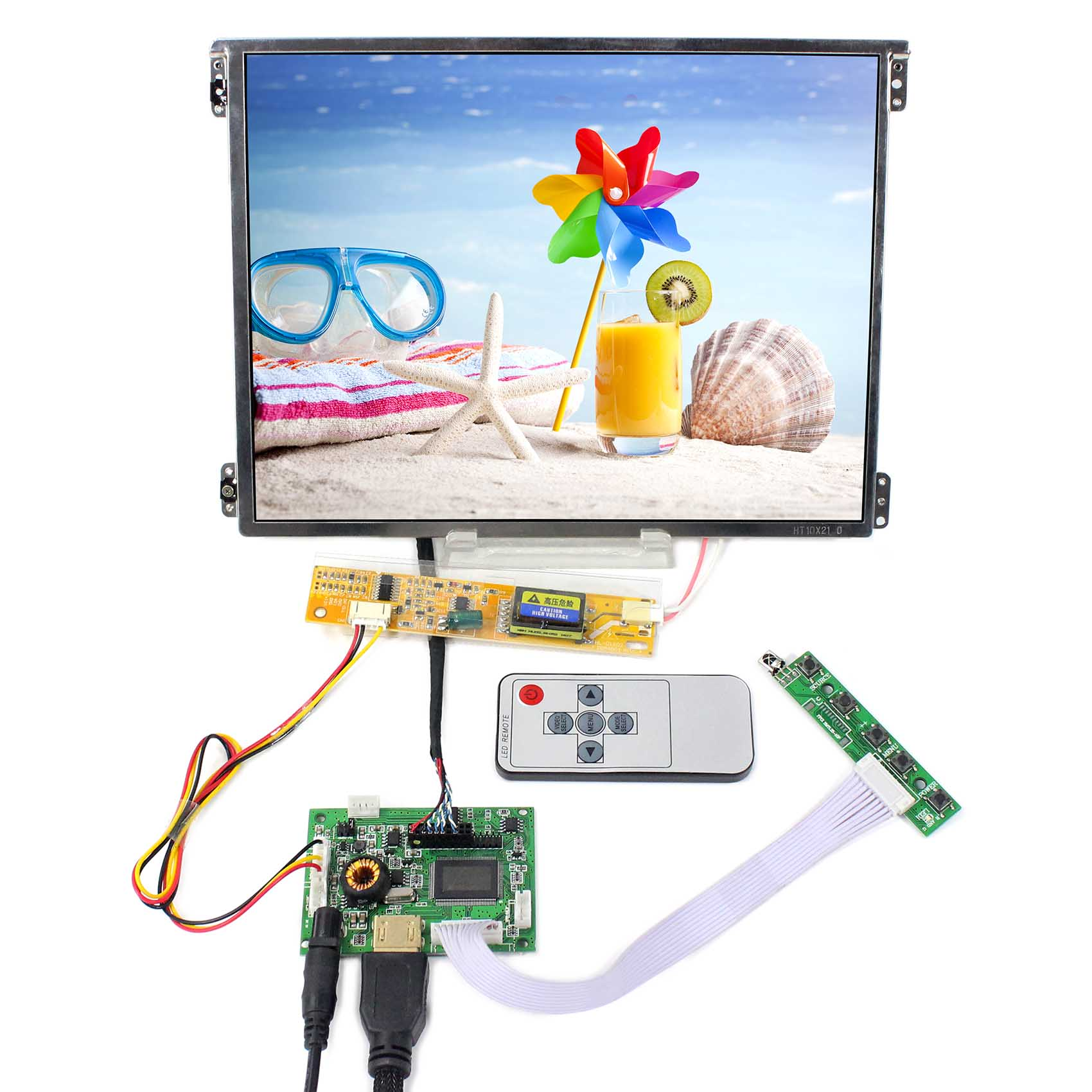 HDMI LCD Board Work for LVDS Interface LCD Screen HT10X21-311 10.4inch IPS LCD Screen  HDMI LCD Board Work for LVDS Interface LCD Screen HT10X21-311 10.4inch IPS LCD Screen