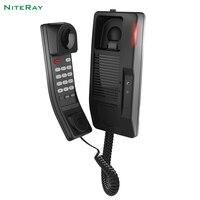 Oferta Teléfono VoIP para teléfonos de baño SIP para habitación de Baño de hotel soporte de teléfono
