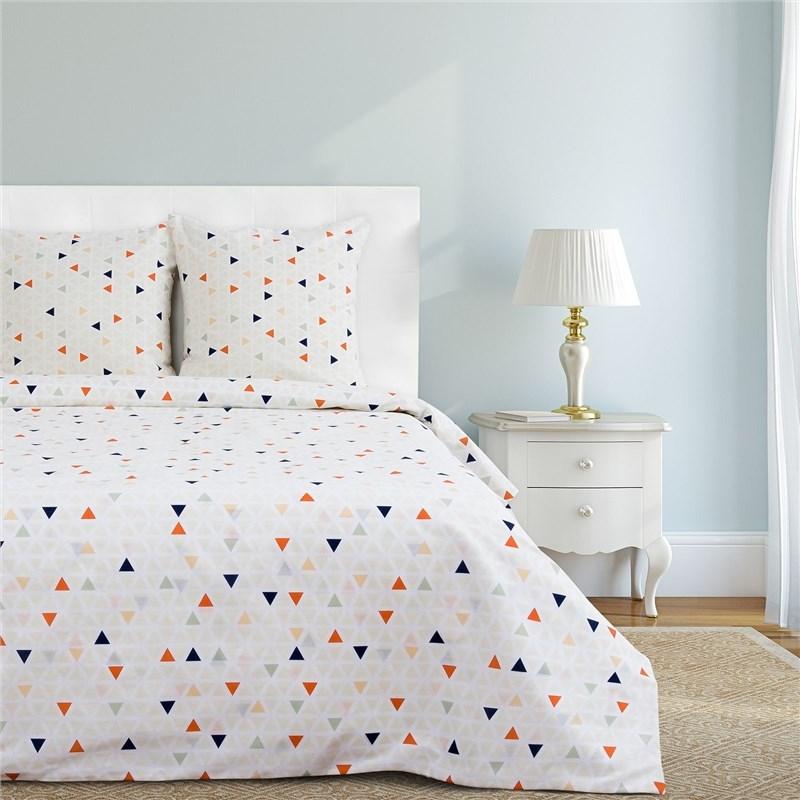 Bed Linen Ethel's duo Семиотика 143 × 215 cm-2 pcs, 220 × 240 cm, 70 × 70 cm-2 pcs 100% CHL, calico 125g/m² 2 pcs 15mmx13mmx1000mm 100