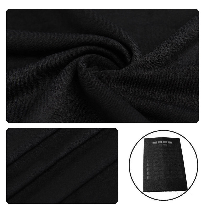 Tamanho dustproof 1.6x0.5m do orador da tela de gille do estéreo de pano protetor da grade do orador preto