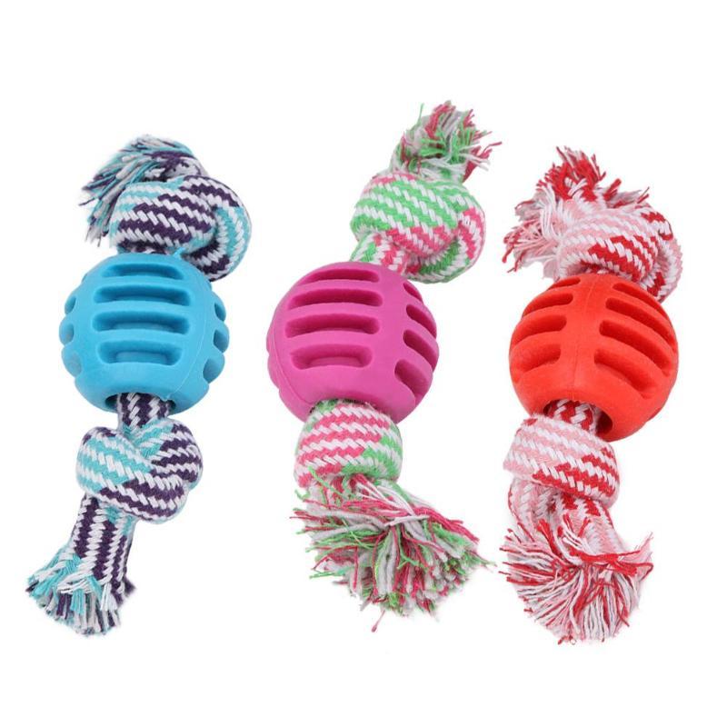Pet Dog Toys Dogs Chew Teeth Clean Outdoor Traning Fun ...