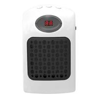 900W Mini Wall Outlet Portable Fan Heater Desktop Household Heater Electric Heater Fast Handy Heater Warm Machine For Winter