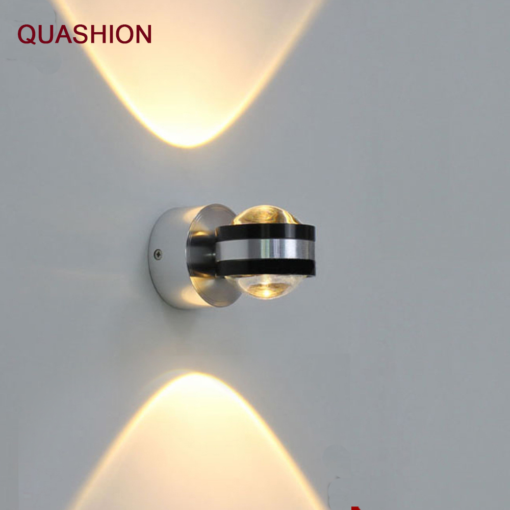 Modern Up Down Wall Lamp Led Indoor Hotel Decoration Light Living Room Bedroom Bedside TV Background Picture Sconce Lamps