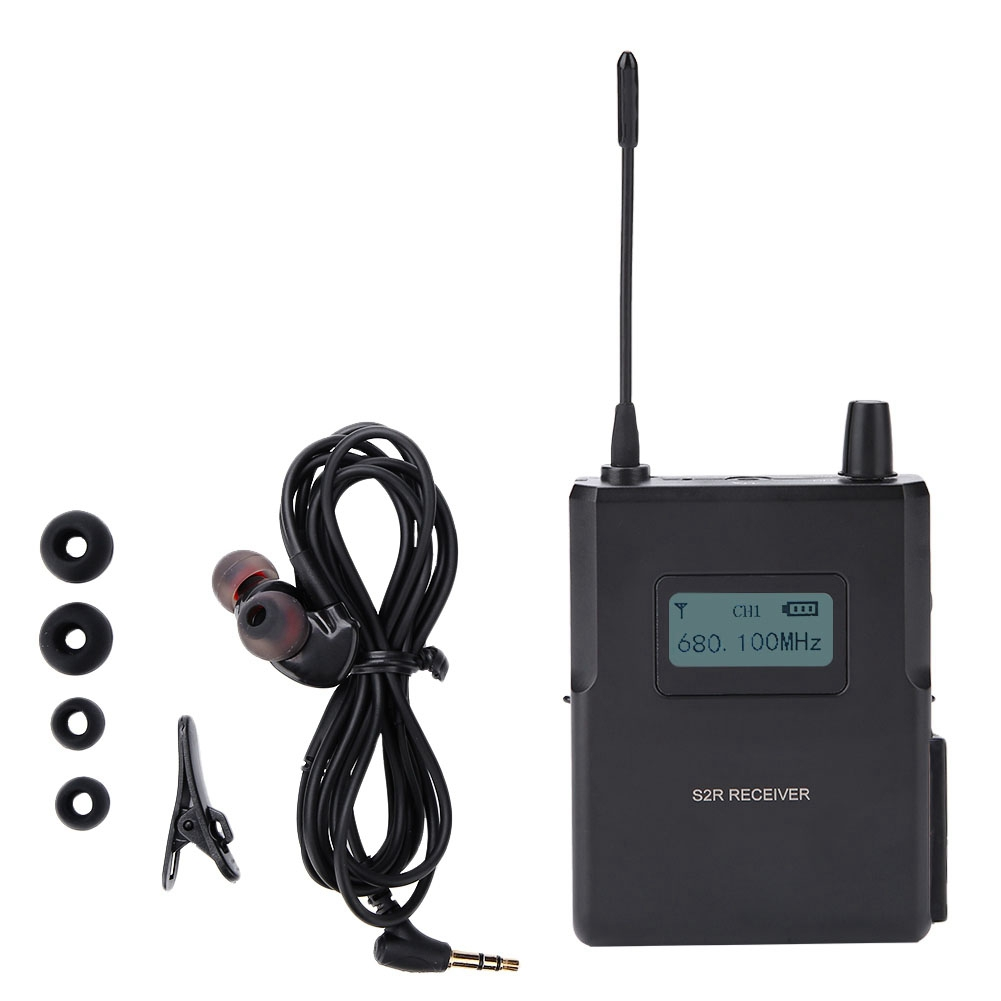 In MüHsam 561-568 Mhz Wireless In-ear Bühne Monitor System Aufnahme Studio Monitor Empfänger Ultra Lange Abstand Anti-elektromagnetische üBerlegene QualitäT
