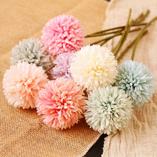 Artificial Flower Shoot Dandelion Handmade Wedding Photography Background Wall Creative Home Soft Decoration