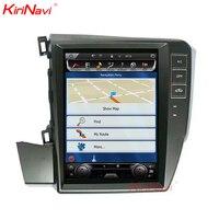 KiriNavi Vertical Screen Tesla Style 10.4 Inch android 7.1 Car Stereo For Honda Civic Left Driving GPS Radio Navigation 2012+