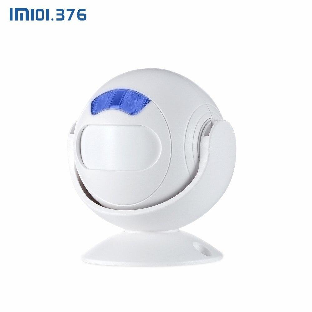 LM101.376 Wireless store Doorbell motion sensor alarm de movimiento detector remote control MP3 speaker PIRLM101.376 Wireless store Doorbell motion sensor alarm de movimiento detector remote control MP3 speaker PIR
