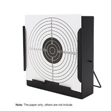 100 Pcs Paintball Target Posters Square Shoot Target Aim Hunting Shooting Practice Paper Sheet 14X14Cm(China)
