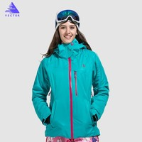 Clearance sale Women Windproof Waterproof Ski Jacket Coats Winter Warm Outdoor Sport Snow Skiing Snowboarding Clothing Blue Red