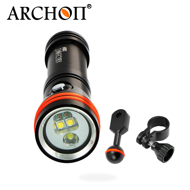 Archon D15VP Diving Torch Light Video Flashlight  Spot Light YS Clamp Underwater Photographing Lamp With Red Light