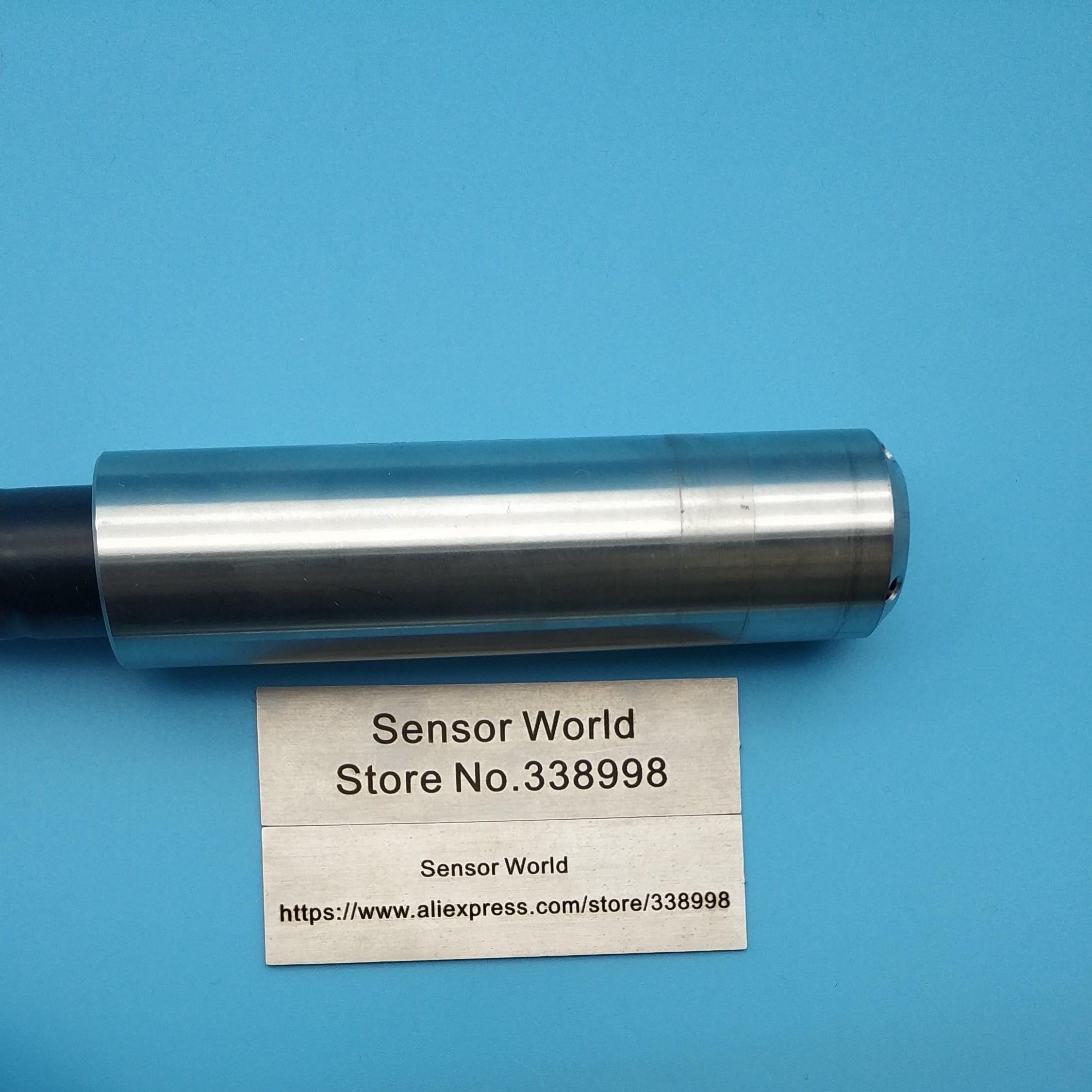 Capteur de jauge de niveau/capteur de niveau d'entrée/transmetteurs de niveau d'eau 4-20mA 0-5 V/10 v RS485 longueur de fil 5 m