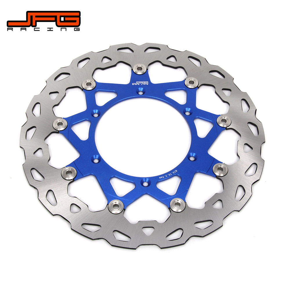 320MM CNC Front Floating Brake Disc Rotor For YAMAHA WR WRF YZ YZF WR250 YZ250 YZ250F