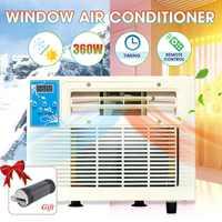 900 واط 220 فولت سخان محمول مكيف الهواء نافذة سطح المكتب مكيف الهواء التبريد التدفئة الباردة/الحرارة الاستخدام المزدوج إزالة الرطوبة جديد مكيفات الهواء الأجهزة المنزلية -