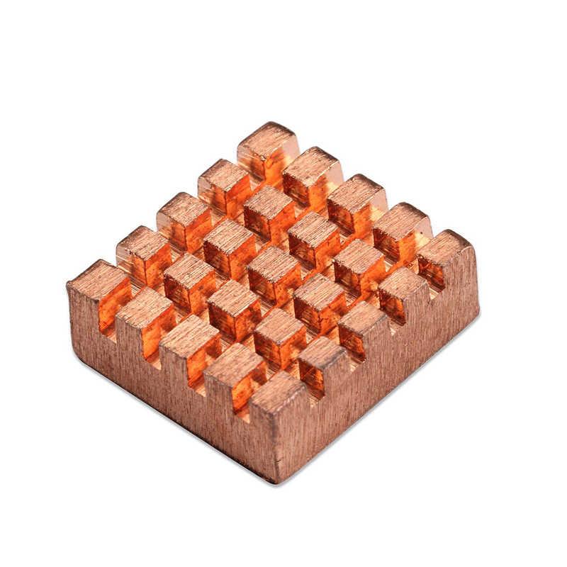 10 ピース/セット冷却銅ヒートシンクラズベリーパイ vga ram 冷却ヒートシンククーラーアルミシムパッド熱ヒートシンク
