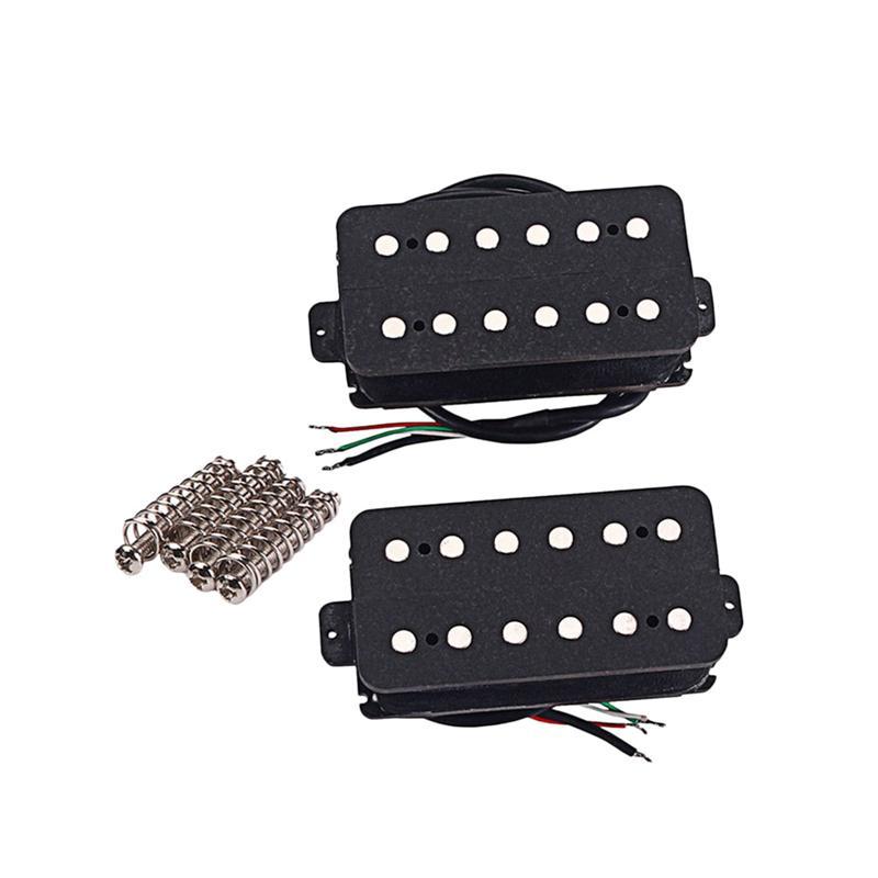 2 pcs GMC80 cuivre guitare pick-up Set guitare Humbucker pick-up pont avec vis pour LP guitare électrique pièces de rechange