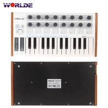 На выбор ультра-Портативный Мини-профессиональные 25-ключ USB MIDI Drum и контроллер клавиатуры