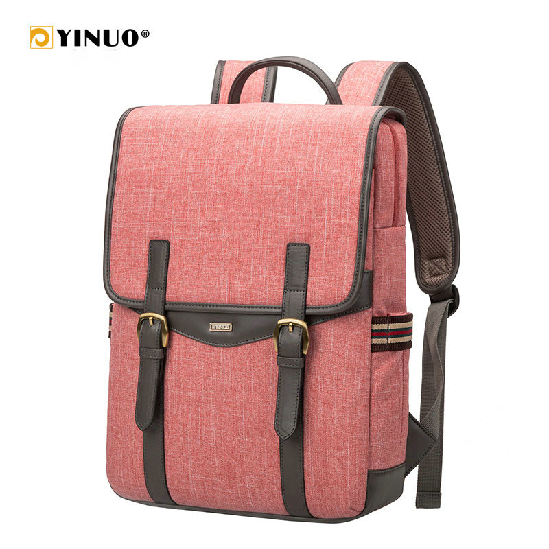 YINUO Unisex Laptop Backpack For 14inch 15inch Waterproof Back Anti Theft High Capacity For Teenager Travel School Bag Mochila