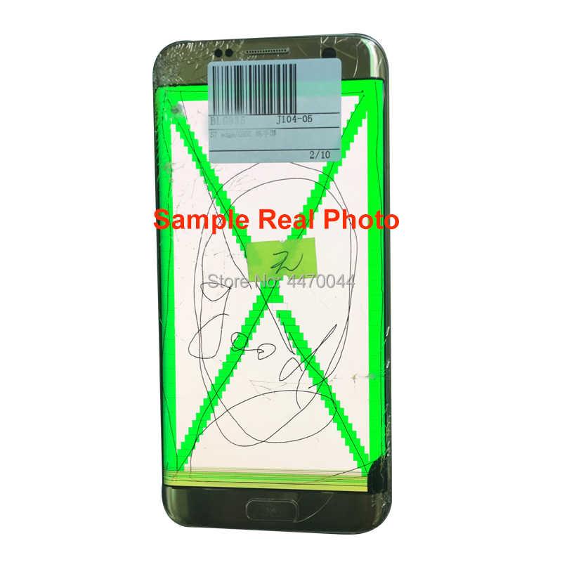 شاشة LCD معيبة مع إطار لسامسونج غالاكسي S8 زائد S7 S6 حافة نوت 8 الزجاج/الإطار فصل وممارسة الترقق