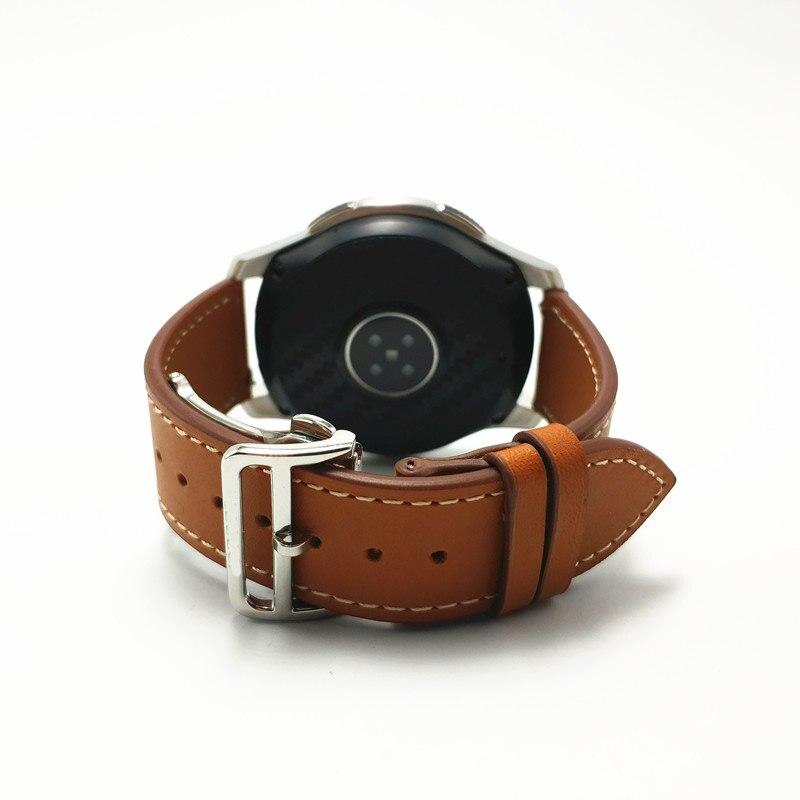 Nouvelle bande de boucle pliante pour Samsung Galaxy montre 46mm Gear S3 frontière classique Huawei GT montre Huami Amazfit bracelets de montre