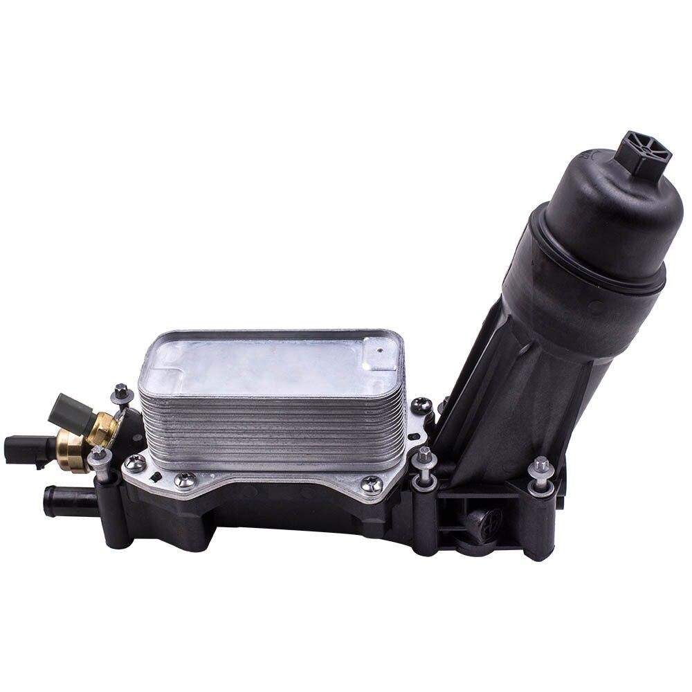 100% nouvelle boîte de capture d'huile pour Jeep Dodge Chrysler RAM 3.6 V6 seulement boîtier de filtre à huile Adaptateur 2014-2017 68105583AA