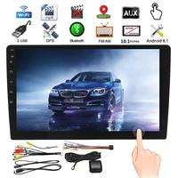 10.1 2 Din WIFI Android 8.1 Car MP5 Player bluetooth 16G Touchs Screen Car Stereo Radio Video Universal GPS Multimedia Player