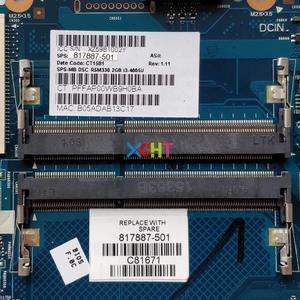 Image 3 - 817887 501 817887 001 817887 601 w i3 4005U CPU 6050A2730001 MB A01 w R5/M330 2G pour HP 240 G4 ordinateur portable PC carte mère