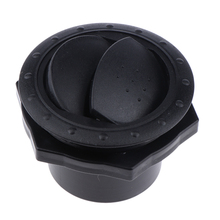 1 Pcs 70x45mm RV Motorhome Roof Vent Exhaust Air Flow  Interior Black Durable ABS Plastic Outlet Accessory