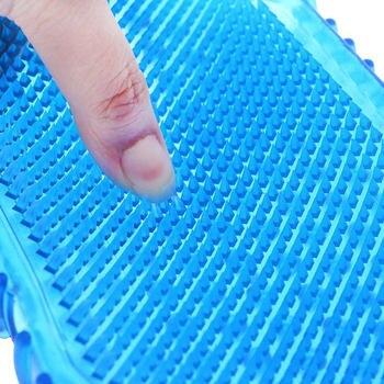 1Pcs Random color Soft Silicone Massage Scrub Gloves For Peeling Body Bath Brush Exfoliating Gloves Footbrush Body Brush 1