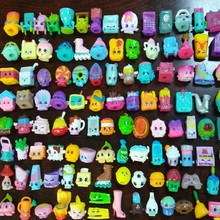 цены 20-200 PCS Many Styles Shop Action Figures for Family Fruit Kins Shopping Dolls Kid's Christmas Gift Playing Toys Mixed Seasons