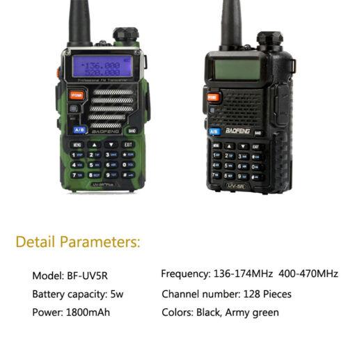 Walkie Talkie Dual Band VHF UHF UV-5R 8W Walkie Two Way Radio Hot Walkie TalkieWalkie Talkie Dual Band VHF UHF UV-5R 8W Walkie Two Way Radio Hot Walkie Talkie
