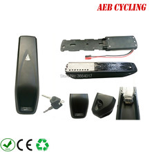 Free shipping Hailong shark down tube ebike battery case 52 Pcs 18650 cells ebike battery case for mountain bike(China)