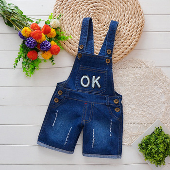 Boys Shorts Baby Summer Pants Baby Boys Overalls 1-3 Years Kids Trousers Children Jeans Girl Summer Trousers Boy One-pieces 1