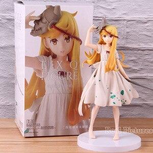 EXQ Figure Monogatari Oshino Shinobu Bakemonogatari Shinobu Figure PVC Collectible Model Toy(China)