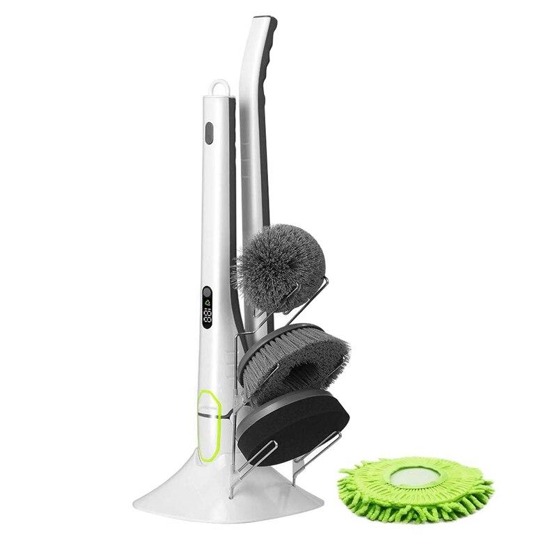 1 zestaw elektryczny szczotka do czyszczenia do czyszczenia domu zamiatanie kurzu sterylizacji inteligentny mycia niewykorzystanych środków na samochód łazienka narzędzie do czyszczenia kuchni