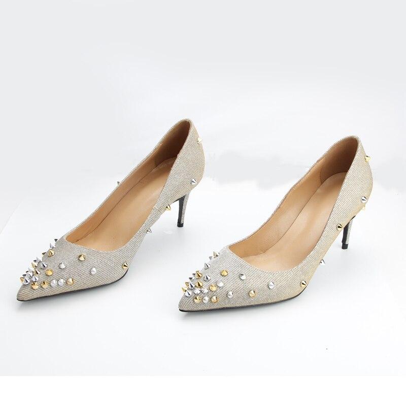 En Hauts 2018 Pour Haute Cuir Chaussures Mode Talons Qualité De Femmes Véritable Mariage Pompes WWIvqcT