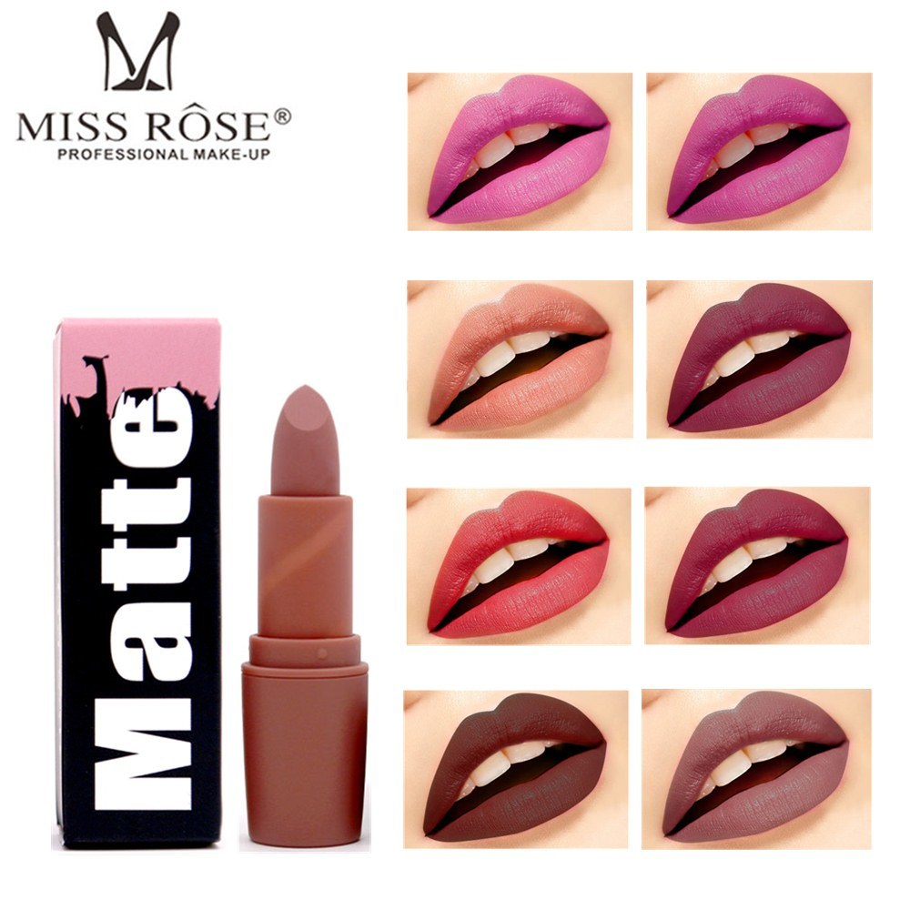 Aliexpress.com : Buy Miss Rose Batom Sexy 6 colors Nude