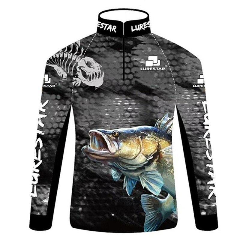 Roupas de Pesca Profissional ao ar Camisas de Pesca de Manga Jérsei para Calças de Pesca de Alta Livre Longa Respirável Anti-uv Qualidade