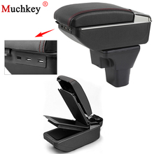 Armrest Box With Usb For Hyundai Accent Arm Rest Cup Holder Ashtray Stowing Tidying Rotatable Seat Armrests Auto Part