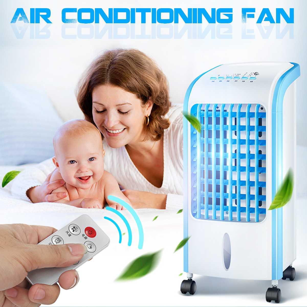 220 V Portable climatiseur ventilateur humidificateur refroidisseur système de refroidissement par eau climatiseur électrique mécanique/télécommande
