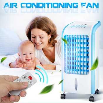 Ventilador humidificador de aire acondicionado portátil de 220 V sistema de refrigeración por agua SISTEMA DE acondicionador eléctrico mecánico/Control remoto