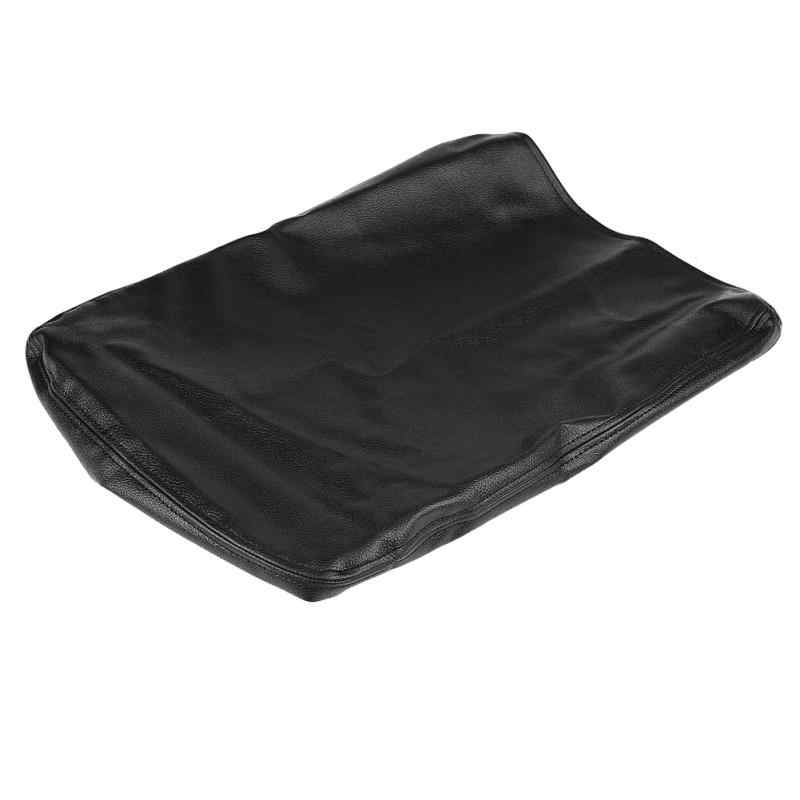 KIMISS Armrest Box Cover Protector,Car Leather Console Armrest Box Cover for RAM 1500 2500 3500 2002-2008