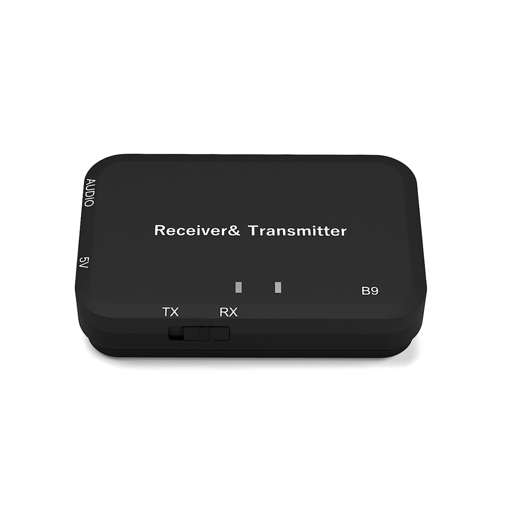 Funkadapter B9 2 In 1 Bluetooth Audio Transmitter & Receiver Wireless Bluetooth Adapter Audio Empfänger 3,5mm Stereo Audio-player Tragbares Audio & Video