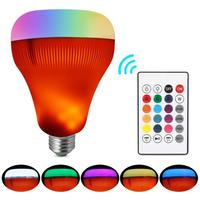 Smart LED Lamp Bluetooth Speaker E27 135Hz 15Khz 3W RGB 18W 3.0 Changing 7W Lamp 7W Wireless Stereo Audio A2DP
