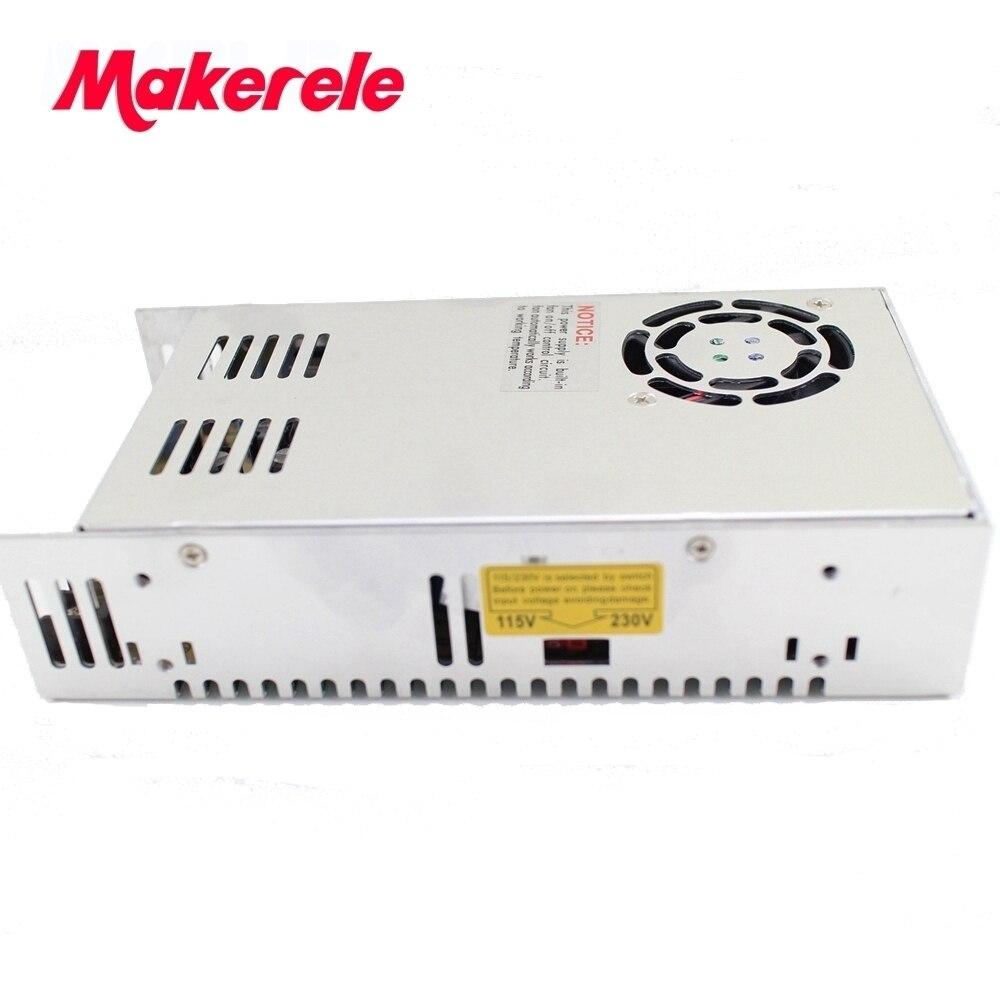 DC12V Alimentation à découpage 500 W 41A Transformateur AC-DC SMPS MS-500-12 Alimentation