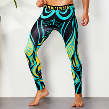 лучшая цена Running Tights Men Sports Leggings Basketball Compression Pants Fitness Tight Pants Sexy Gay Sportswear Skinny Sweatpants M-XXL