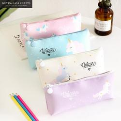 Unicorn Pencil Case Kawaii School Supplies Bts Stationery Gift Cute Pencil Box Pencilcase Office School Tools Pencil Cases Tools