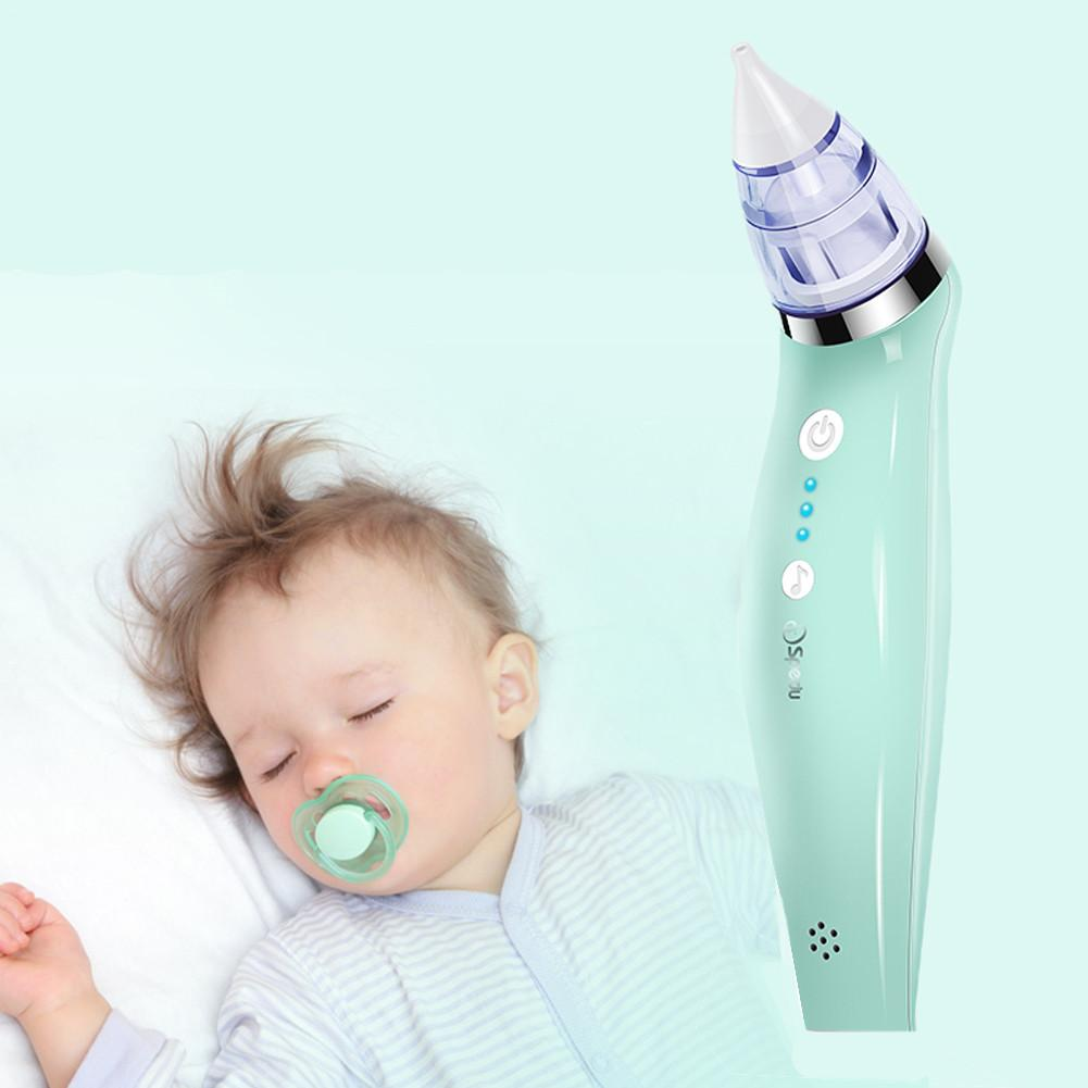 Baby Nasal Aspirator Electric Nose Snot Cleaner
