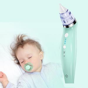 Quiet Baby Nasal Aspirator Electric Nose Cleaner Sniffling Equipment Safe Hygienic Nose Snot Cleaner For Newborn Infant Toddler|Nasal Aspirator| |  -